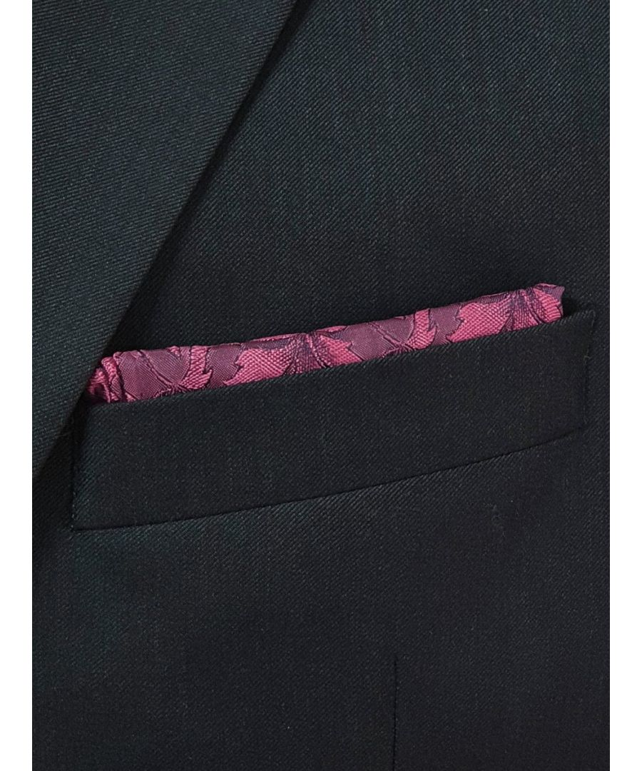 Image for Loral Floral Pocket Square Pink