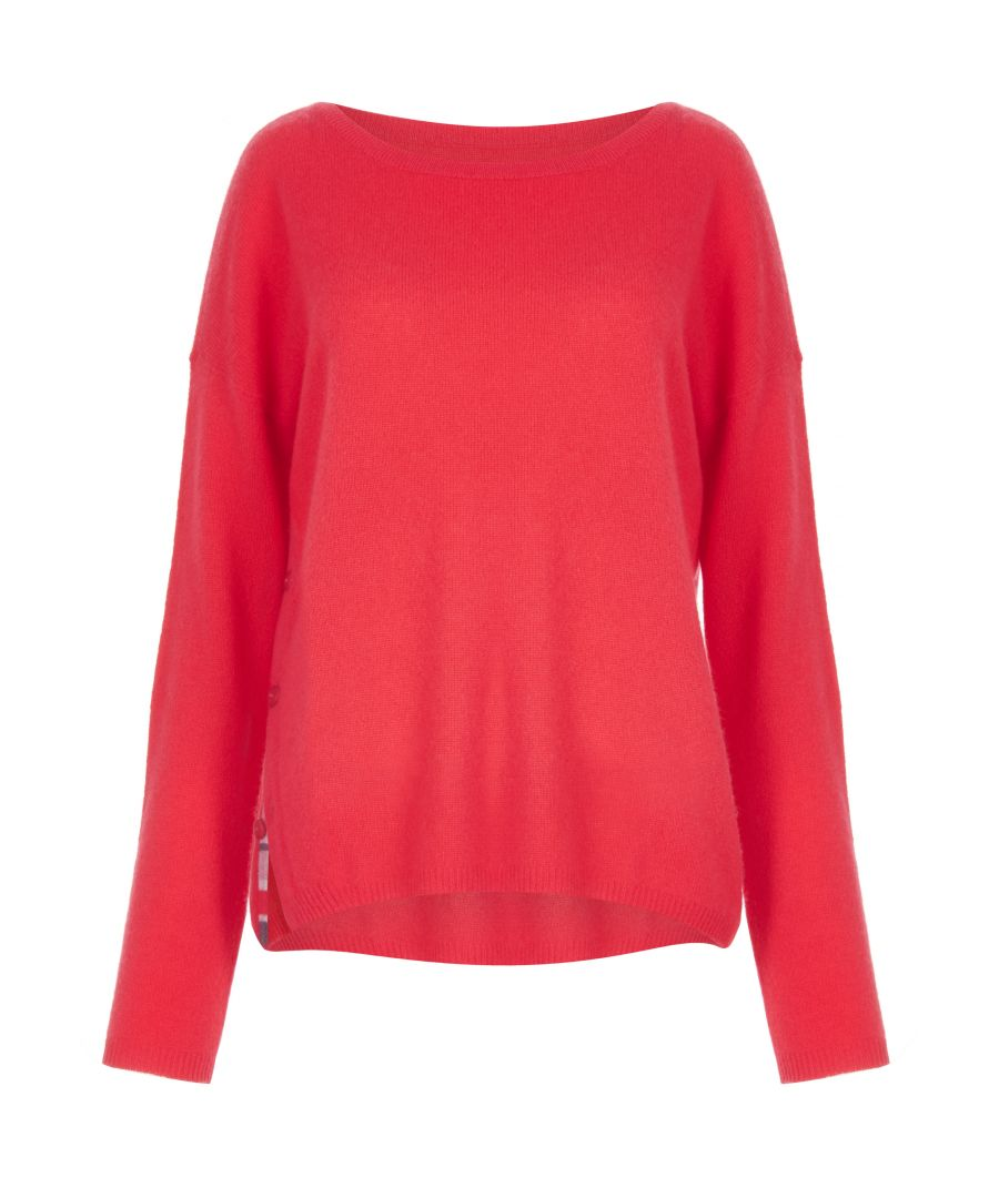 Image for Cashmere Jumper In Red