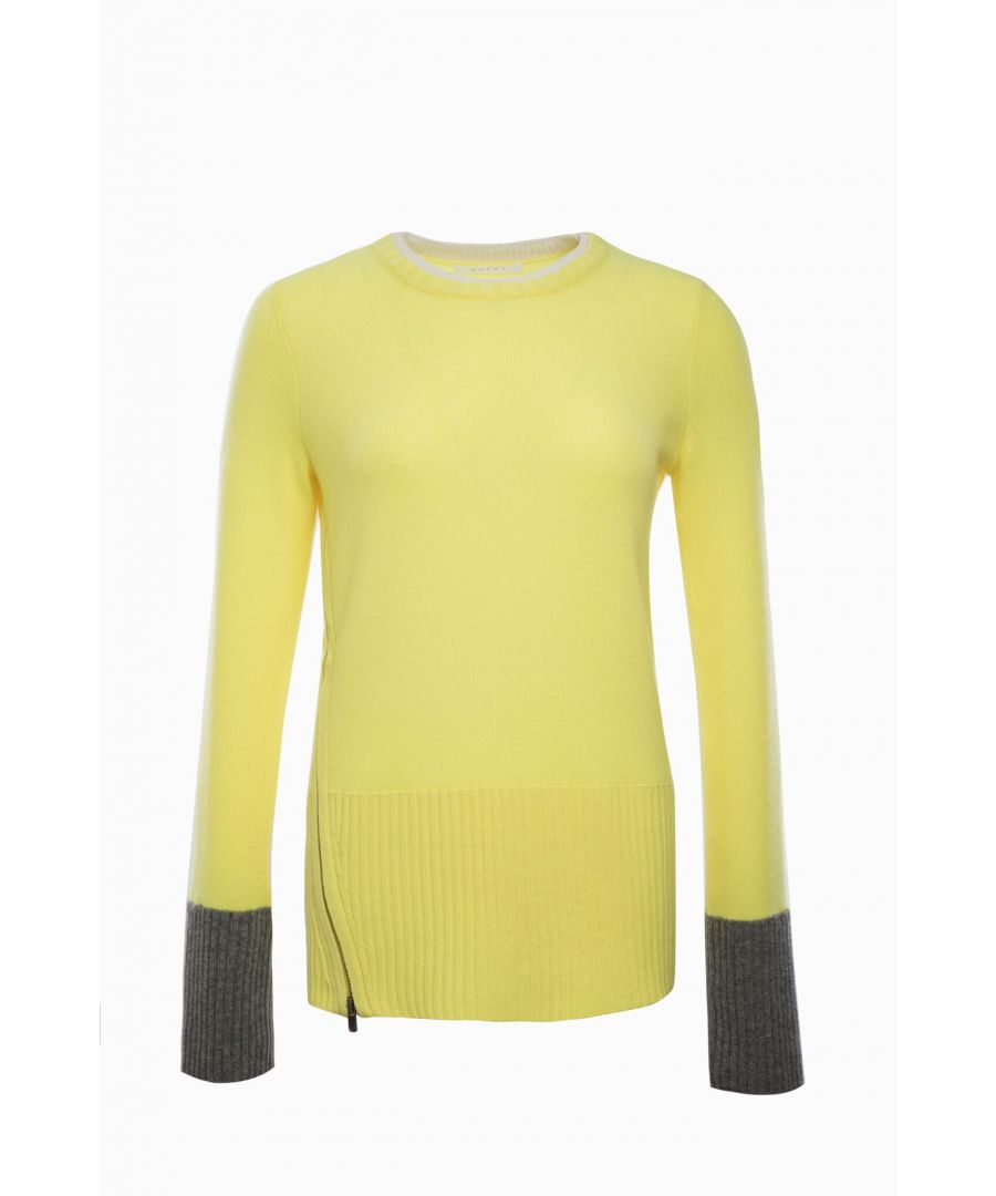 Image for Cashmere Jumper In Lemon