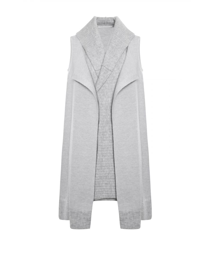 Image for Light Grey Wool Waistcoat