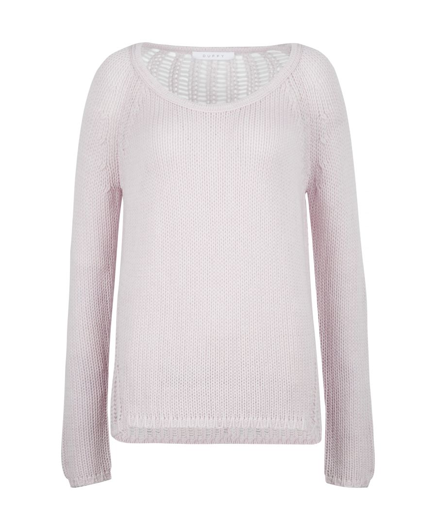 Image for Duffy loose knit mixed blend jumper