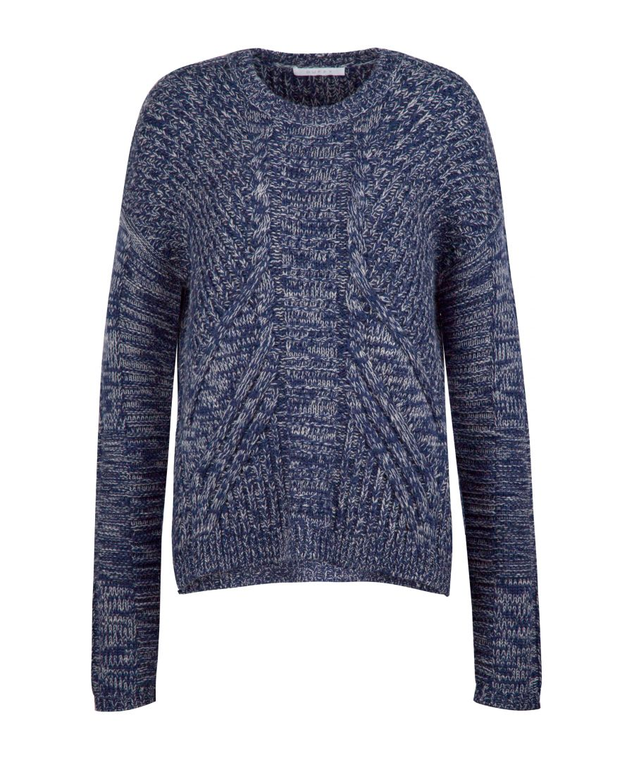 Image for Chunky Wool Jumper In Grey