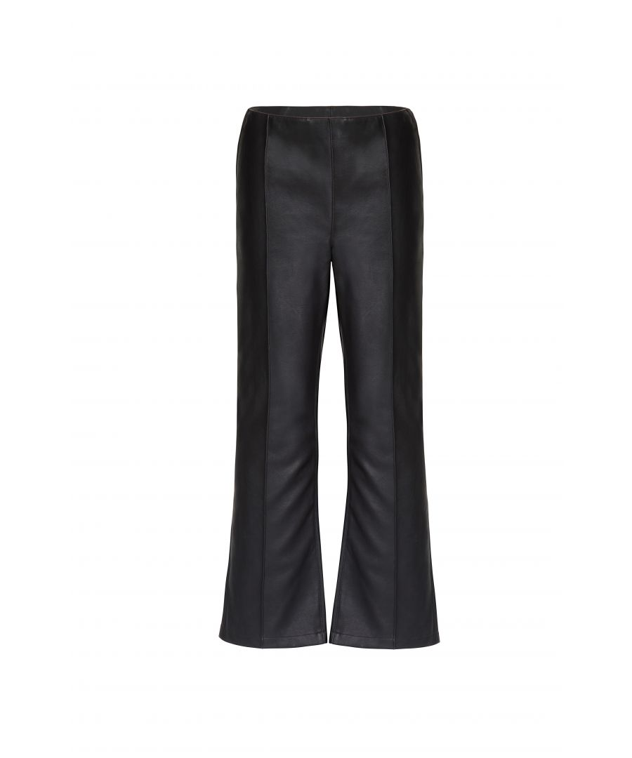 Image for Vegan Leather Pant In Black