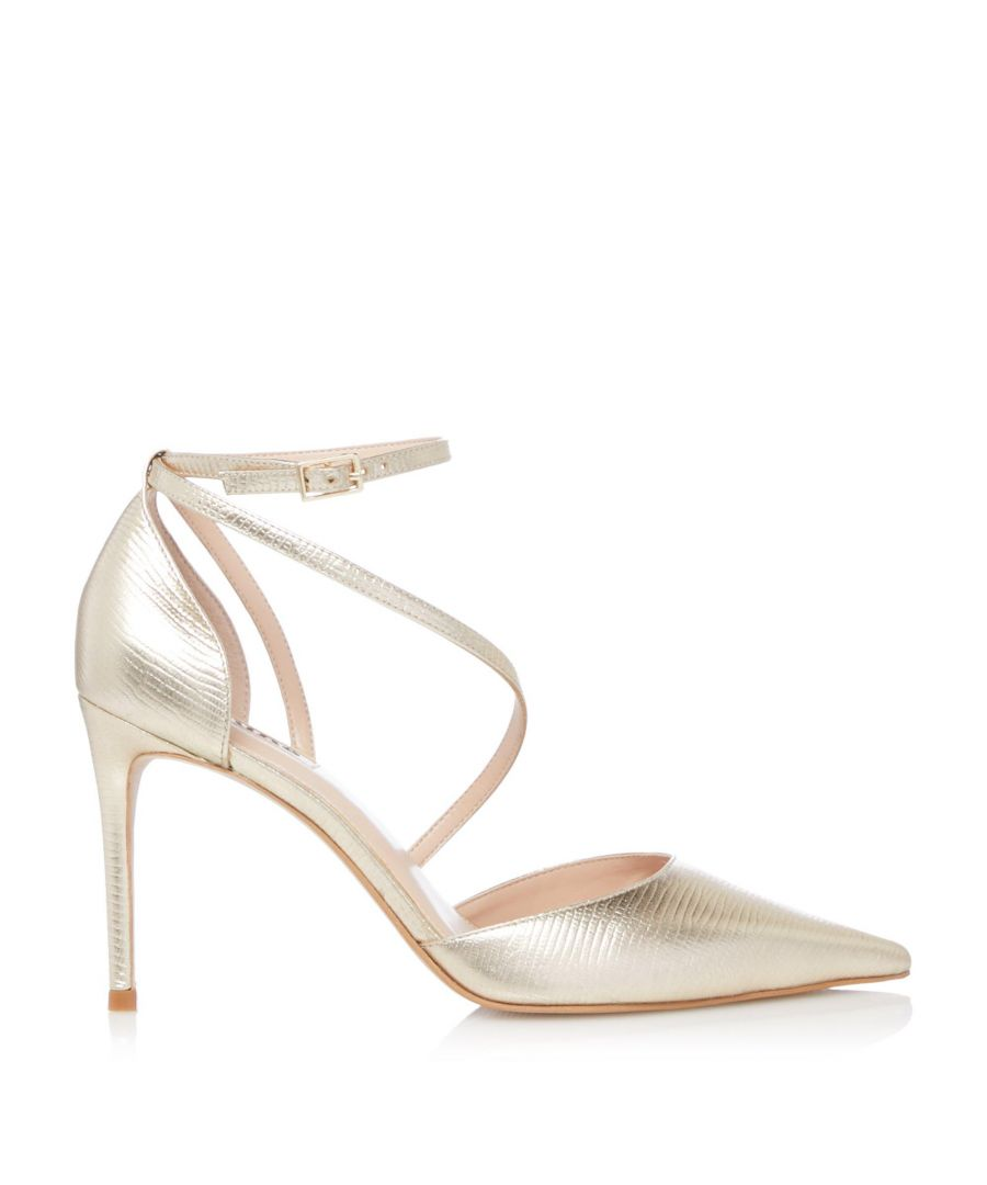 Image for Dune Ladies DANCING Cross Strap Court Shoes