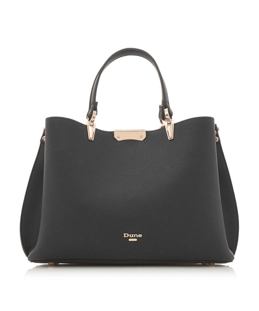 Image for Dune DARROW Large Textured Handbag