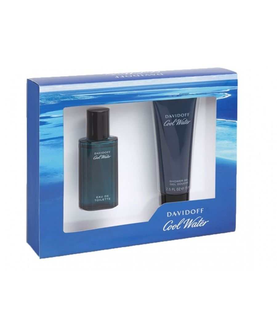 Image for Davidoff Coolwater 40Ml Eau De Toilette And 75Ml Shower Gel