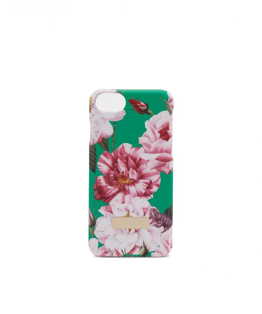 Image for Ted Baker Elda Iguazu Iphone 8 Clip Case, Bright Green