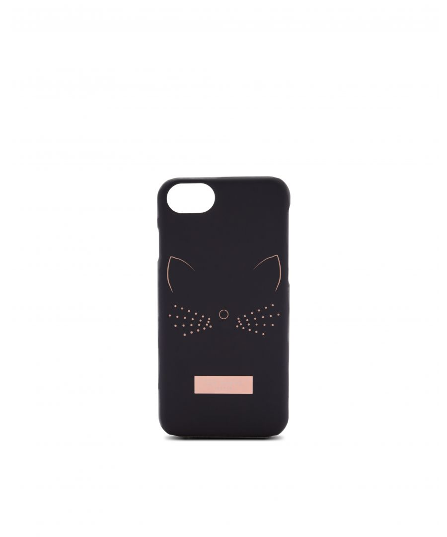 Image for Ted Baker Yuriko Cat Iphone 6/6S/7/8 Case, Black
