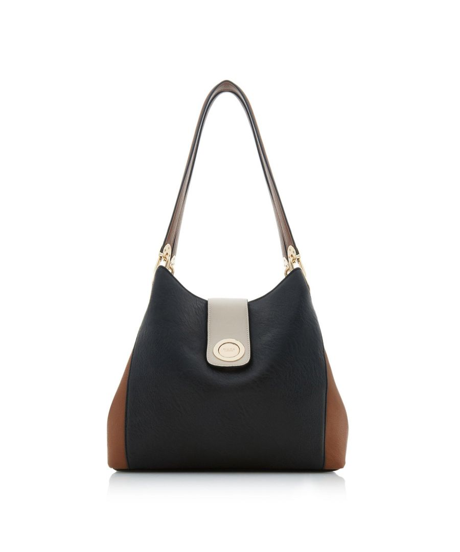 Image for Dune DEANNEE Colourblock Hobo Shoulder Bag