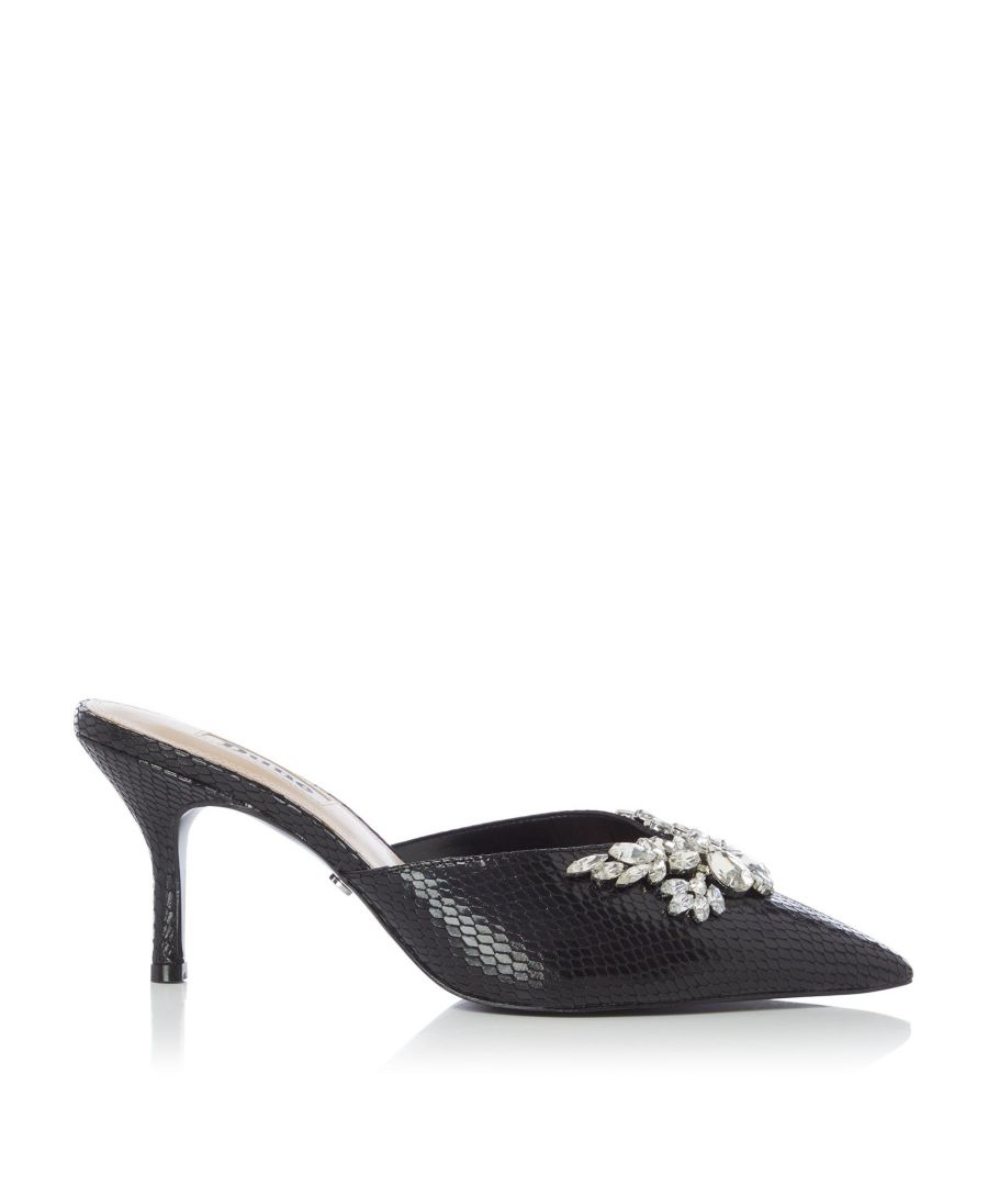Image for Dune Ladies DEBUT DI Embellished Open Court Shoes