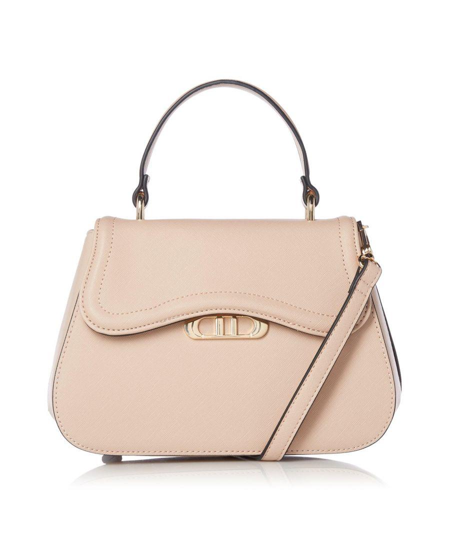 Image for Dune DEMZIE Curved Flap Handbag