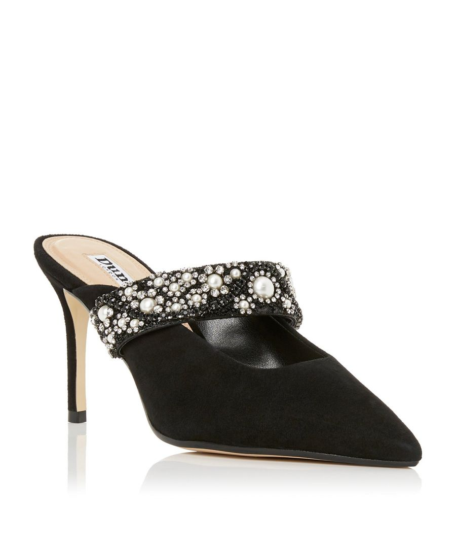 Image for Dune Ladies DESERVE Embellished Mid Stiletto Heel Mule
