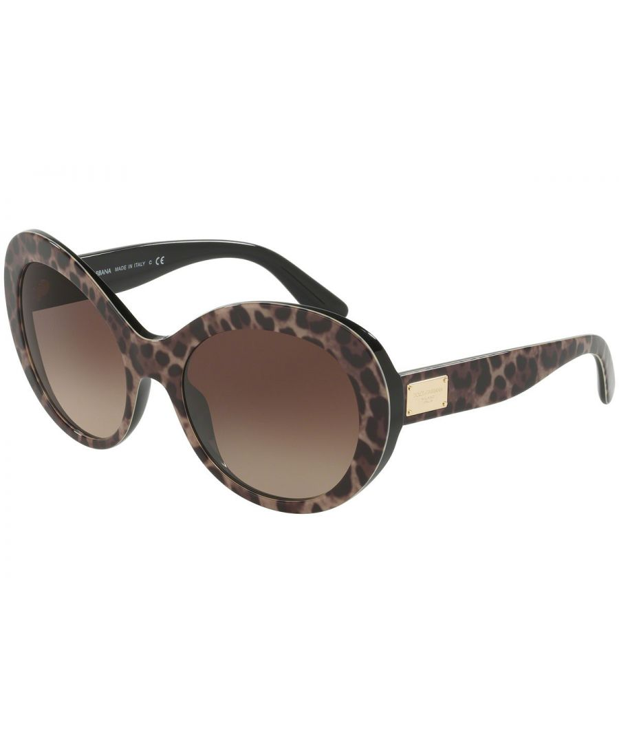 Image for DG 4295 Leopard Sunglasses