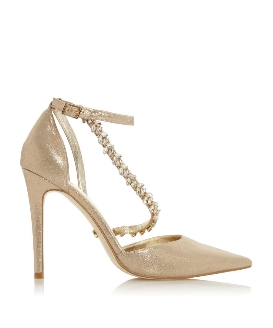 Image for Dune Ladies DIAZZ Pointed High Heel Court Shoes