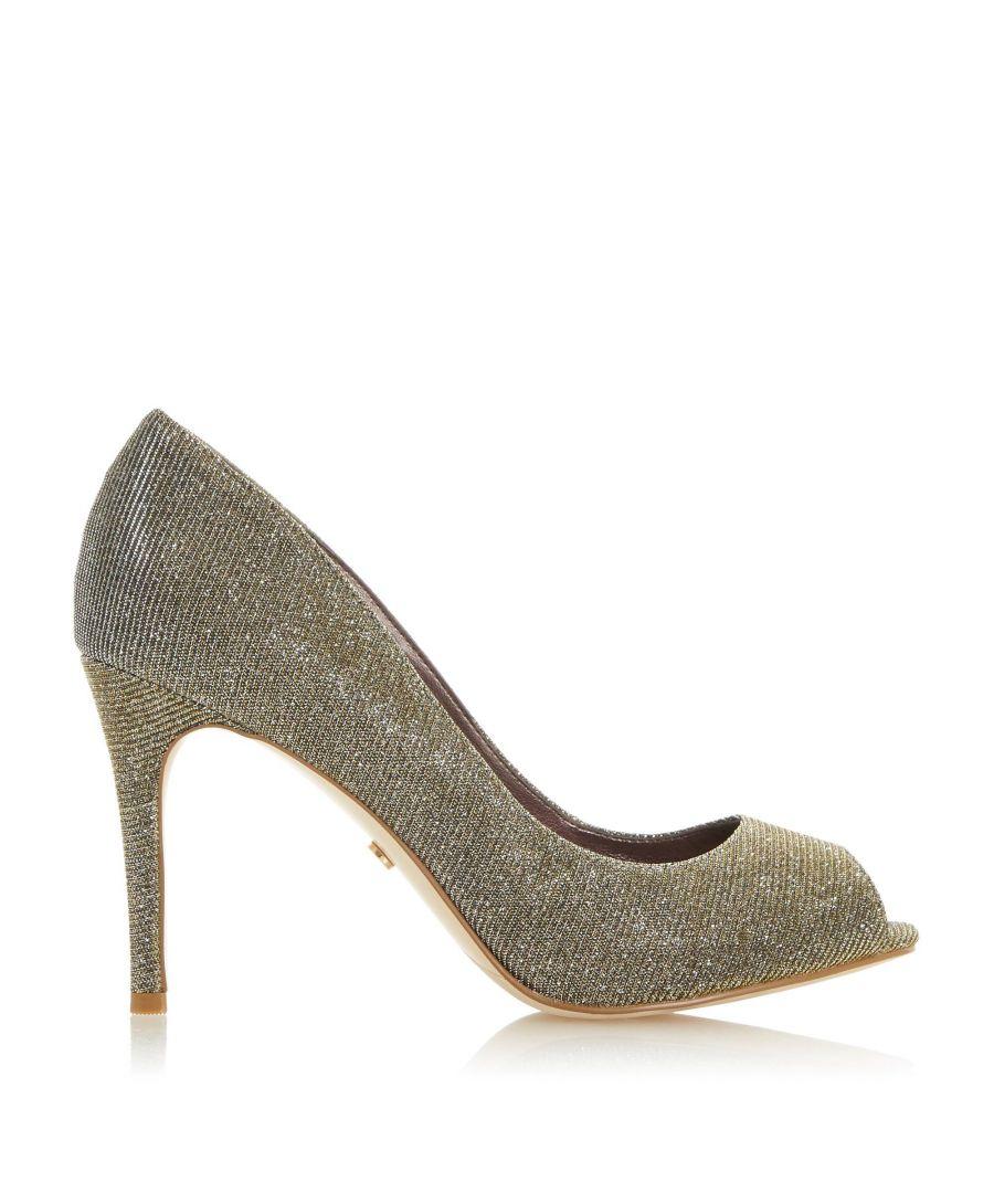 Image for Dune Ladies DINAH 2 Peep Toe Court Shoe