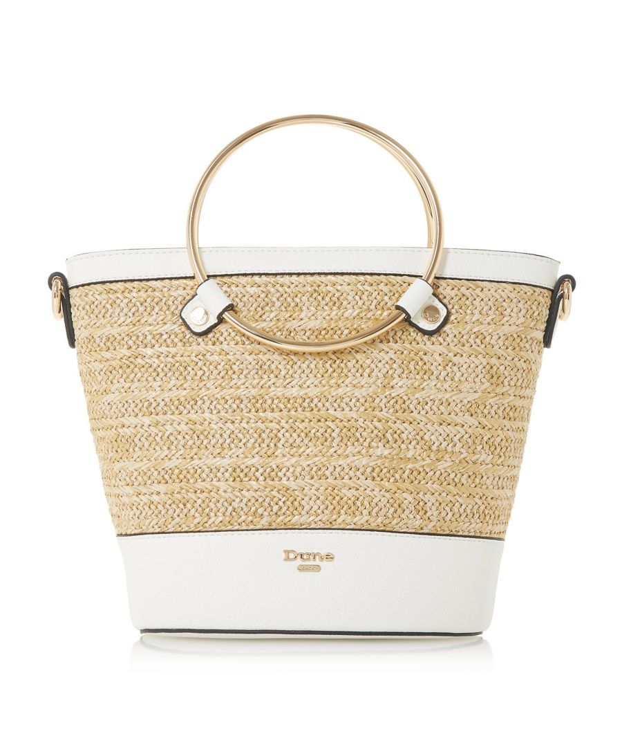 Image for Dune DIRCLE Circle Handle Shopper Bag