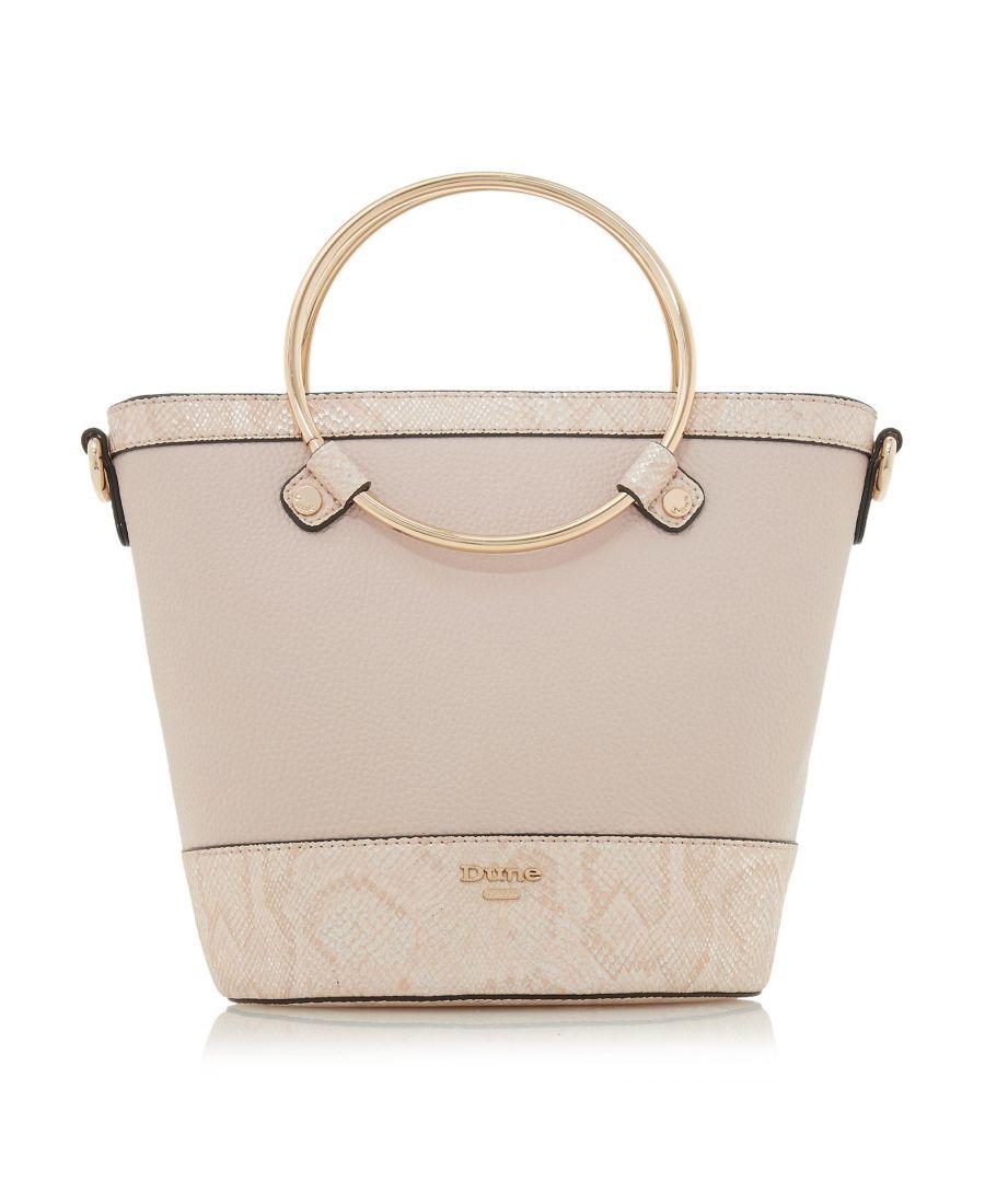 Image for Dune DIRCLE Circle Handle Shopper Bag