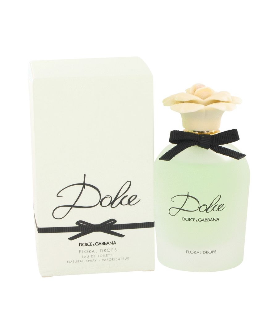Image for Dolce Floral Drops Eau De Toilette Spray By Dolce & Gabbana 75 ml