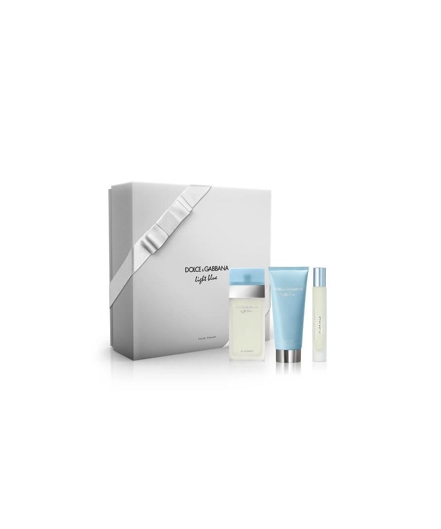 Image for Dolce And Gabbana Light Blue Gift Set Eau De Toilette 50Ml