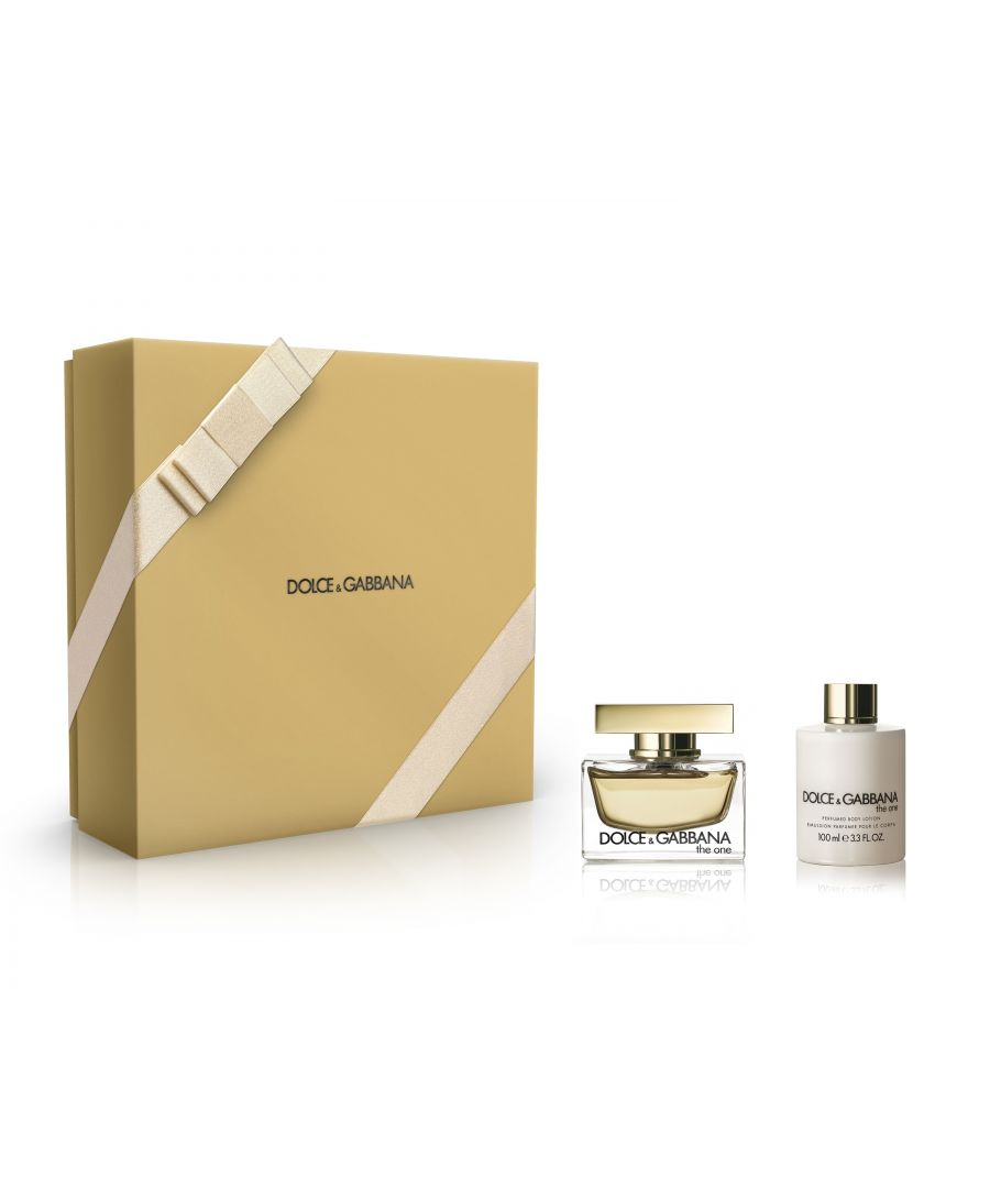 Image for Dolce And Gabbana The One Gift Set 50Ml Eau De Parfum And 100Ml Body Lotion