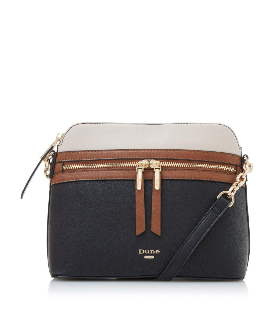 Image for Dune DOLIVE Small Colour Block Zip Detail Cross Body Bag