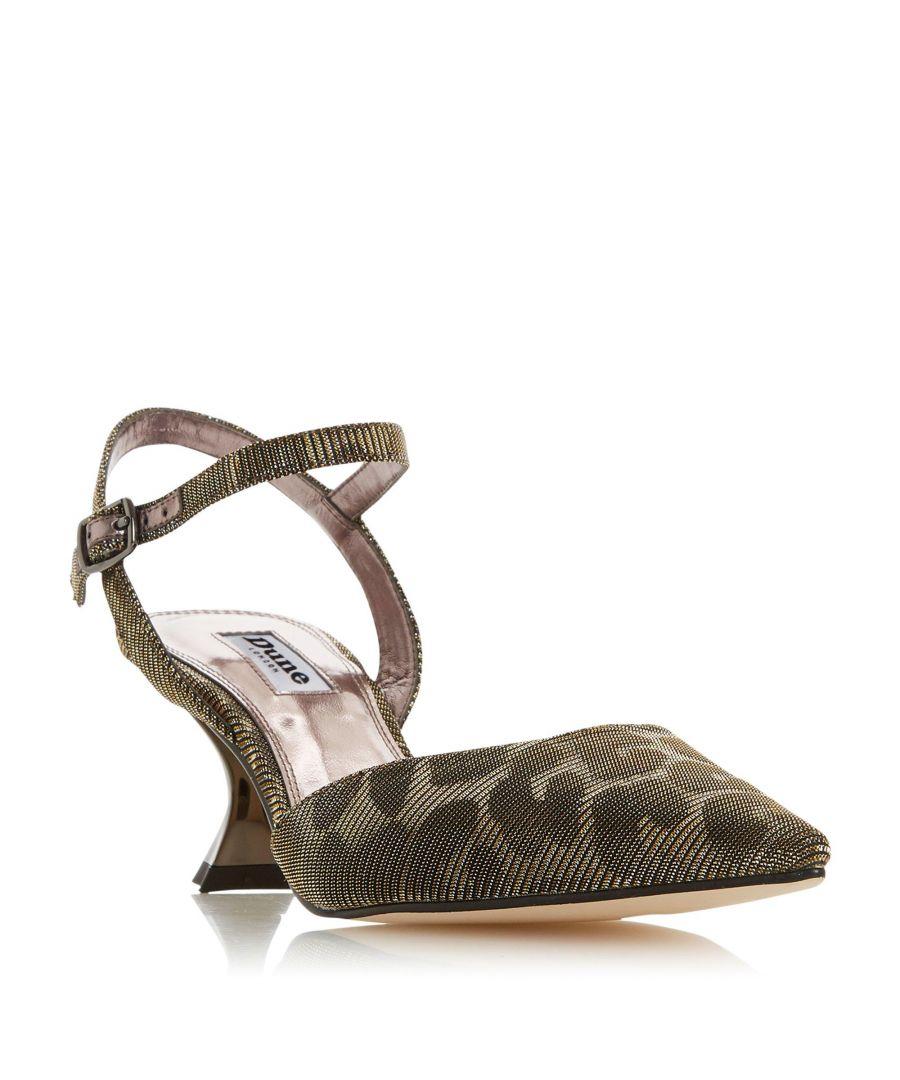 Image for Dune Ladies DORIAA Flared Heel Court Shoe