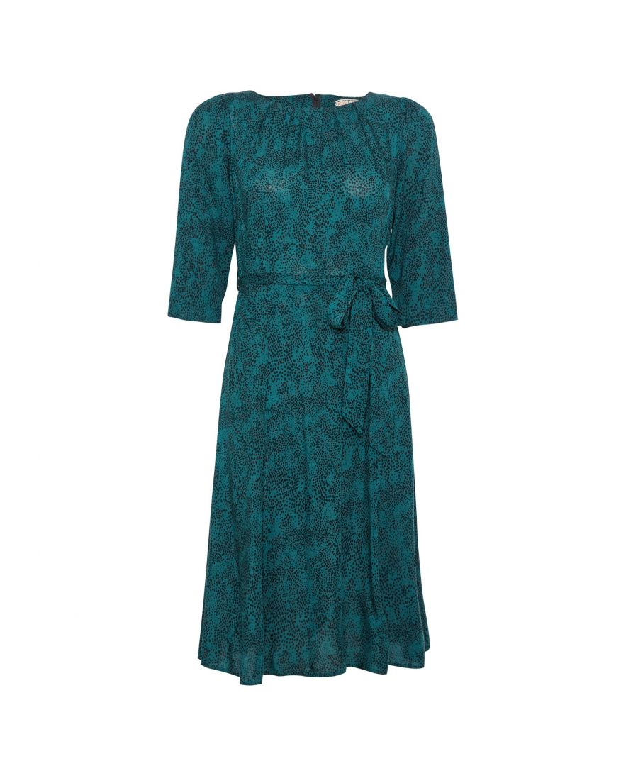 Image for Dorothy Perkins Womens Billie and Blossom Petite Green Midi Dress