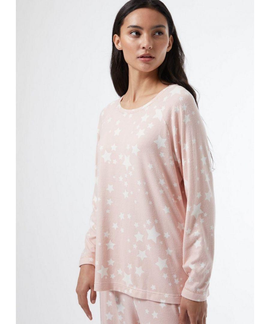 Image for Dorothy Perkins Womens Ac Star Supersoft Twosie Pyjama Set Nightwear Sleepwear
