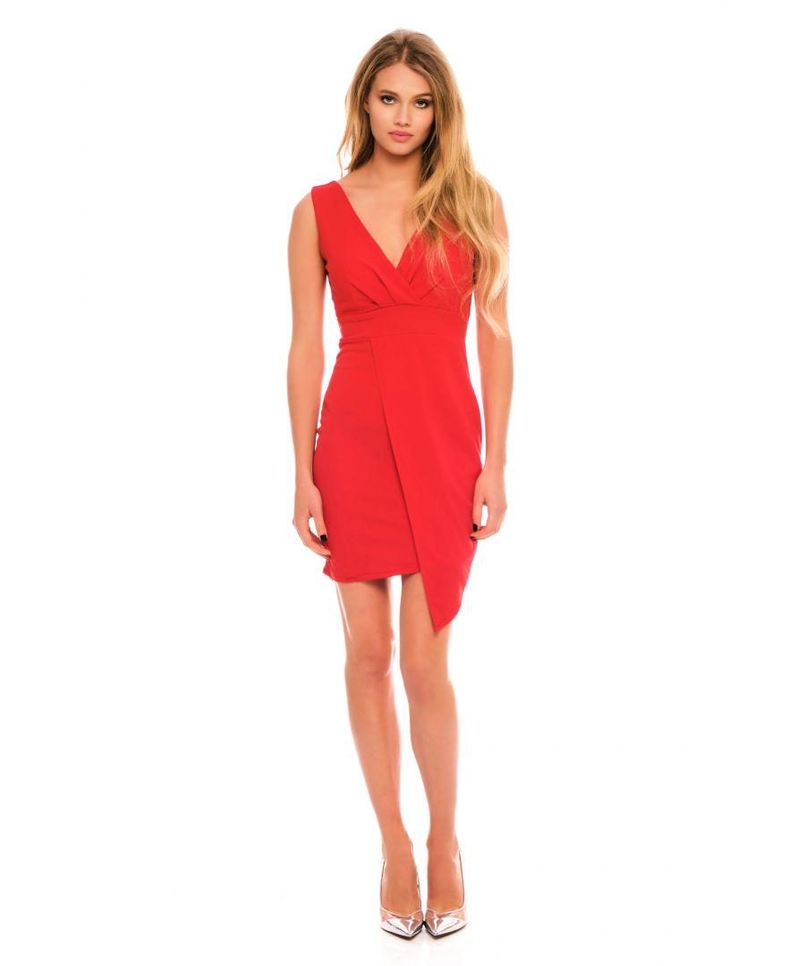 Image for Eliane Plunge Mini Dress