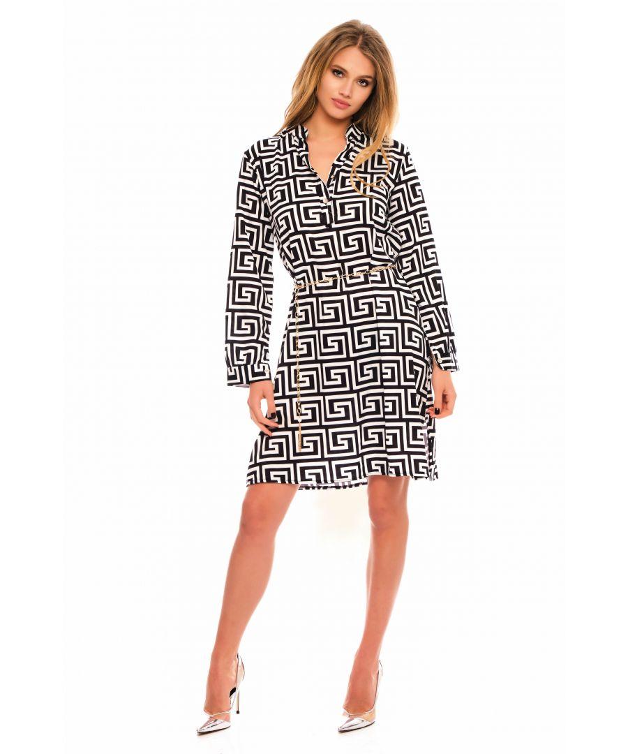 Image for Hagda Mini Shirt Dress