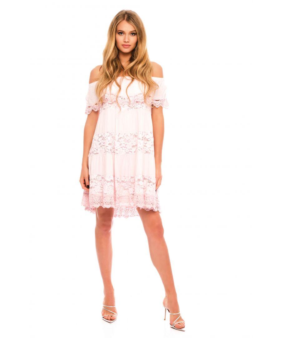Image for Nina Off The Shoulder Mini Dress