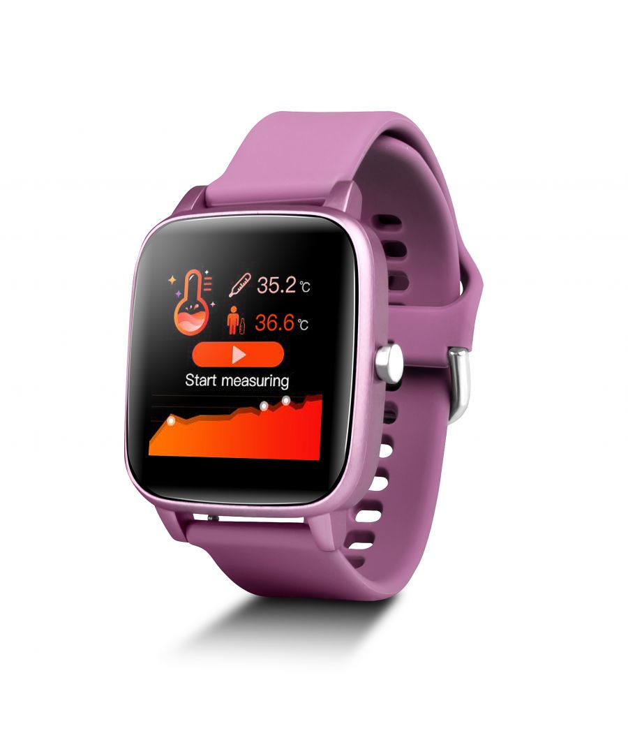 Image for Smartwatch Smartek Sport with Thermometer SW-660  Pink