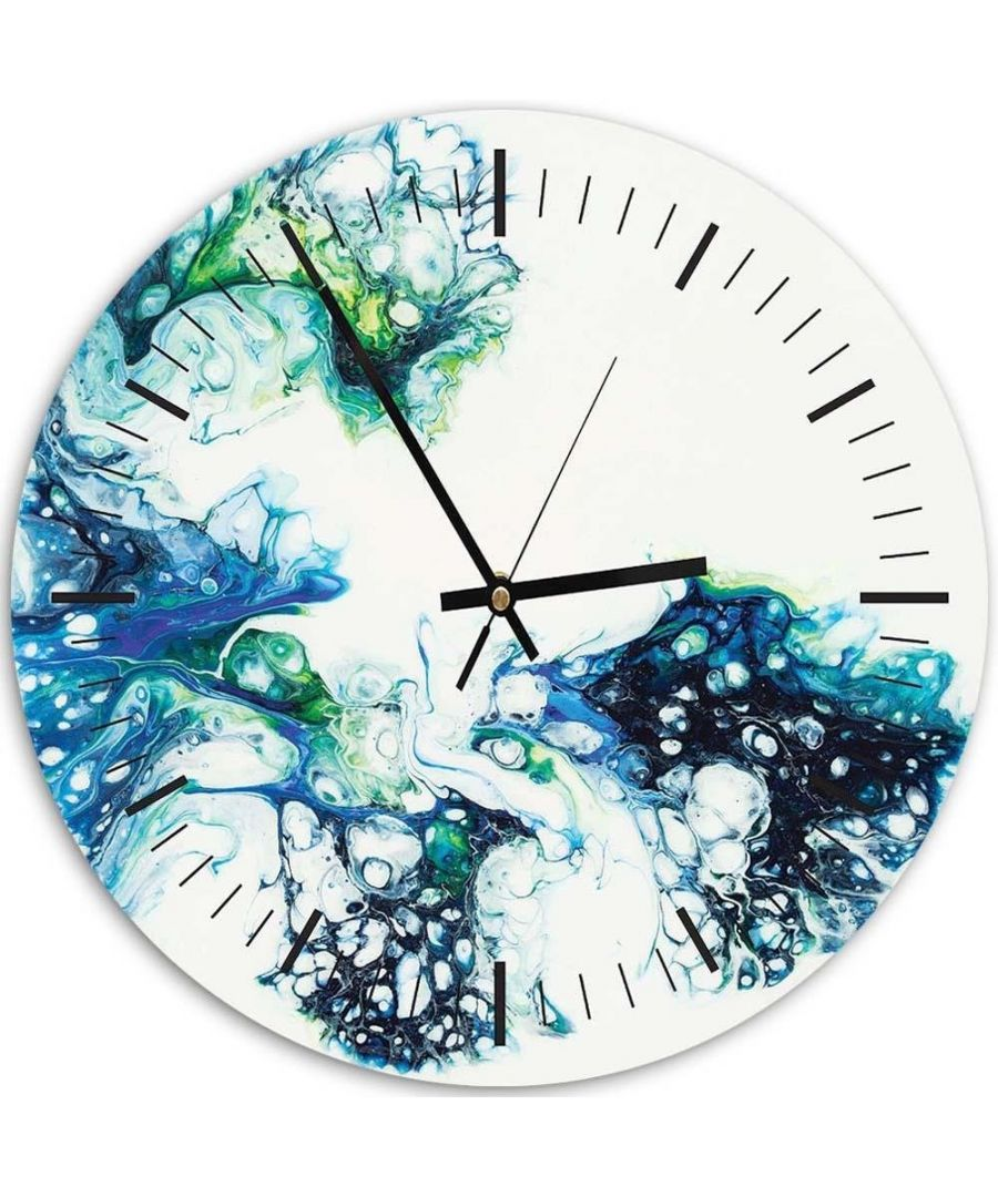 Image for Wall Clock - Transparent Densities Cm. 40x40