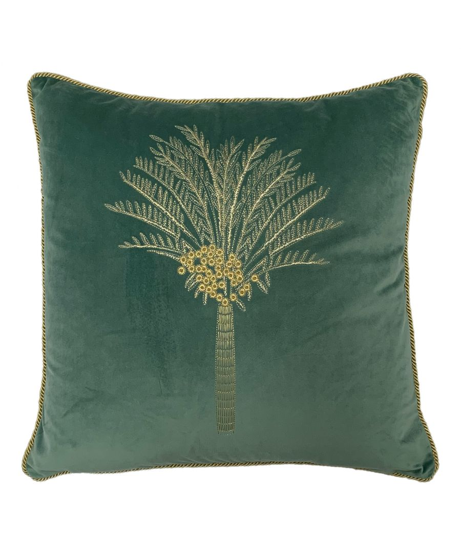 Image for Desert Palm Polyester Filled Cushion