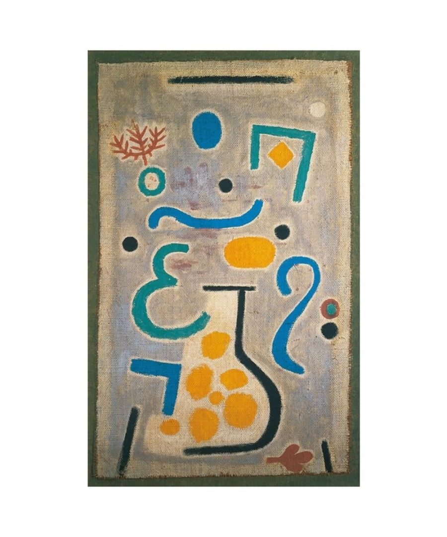 Image for Canvas Print - Die Vase (The Vase) - Paul Klee Cm. 50x80