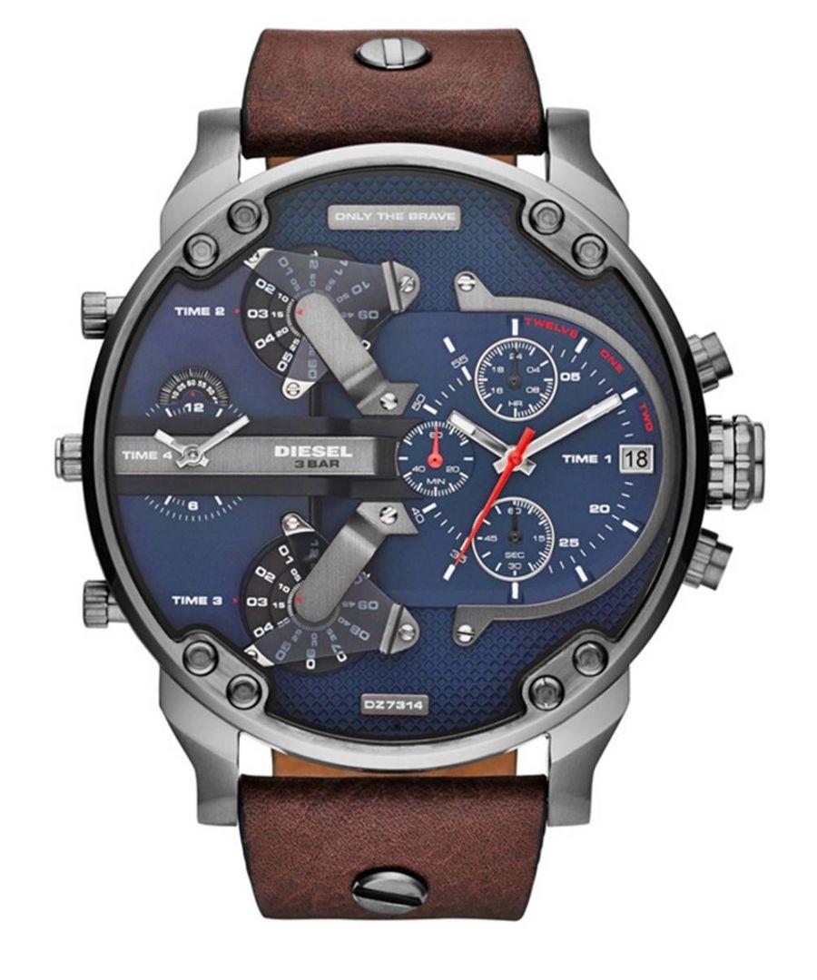 Image for Diesel Men's Daddy 2.0 Chronograph Watch DZ7314