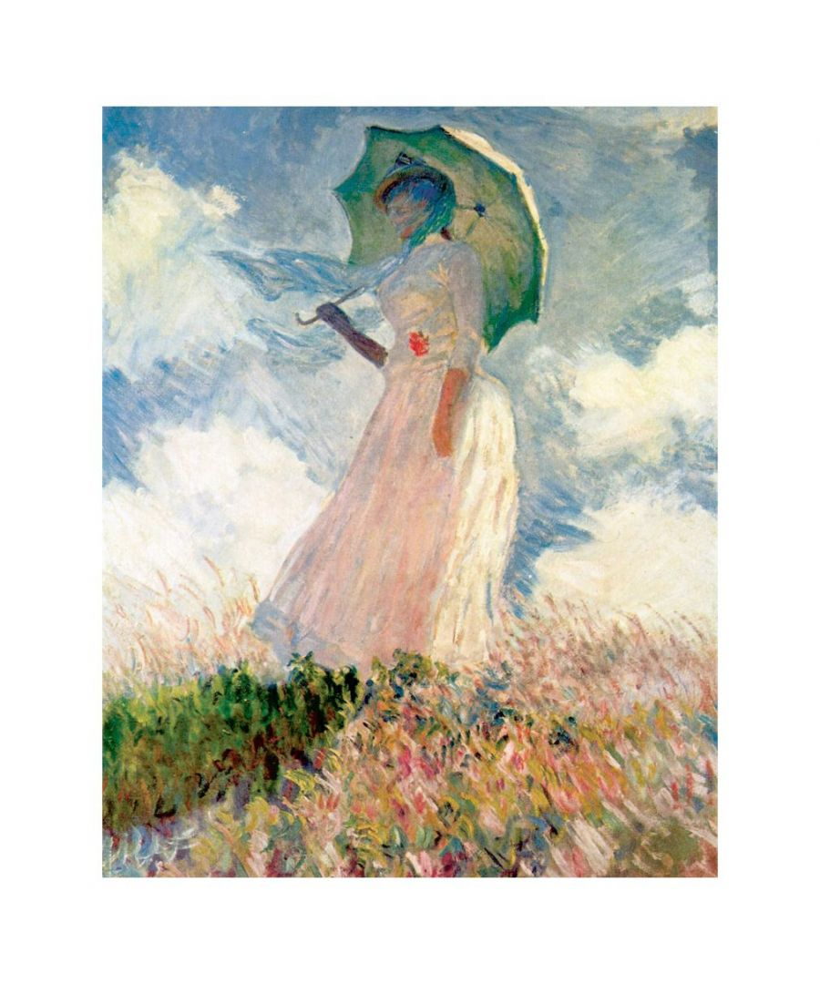 Image for Canvas Print - Woman With A Parasol - Claude Monet