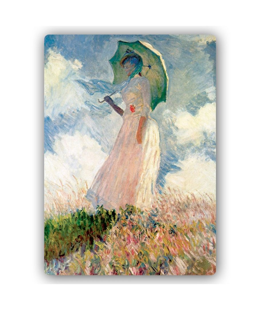 Image for Metal Print - Woman With A Parasol - Claude Monet