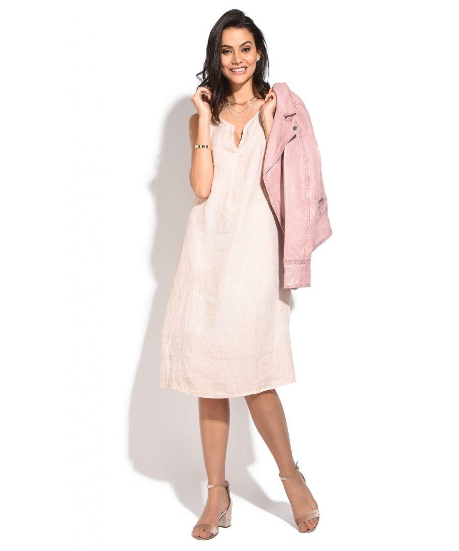 Image for Long tusinian collar sleeveless Dress