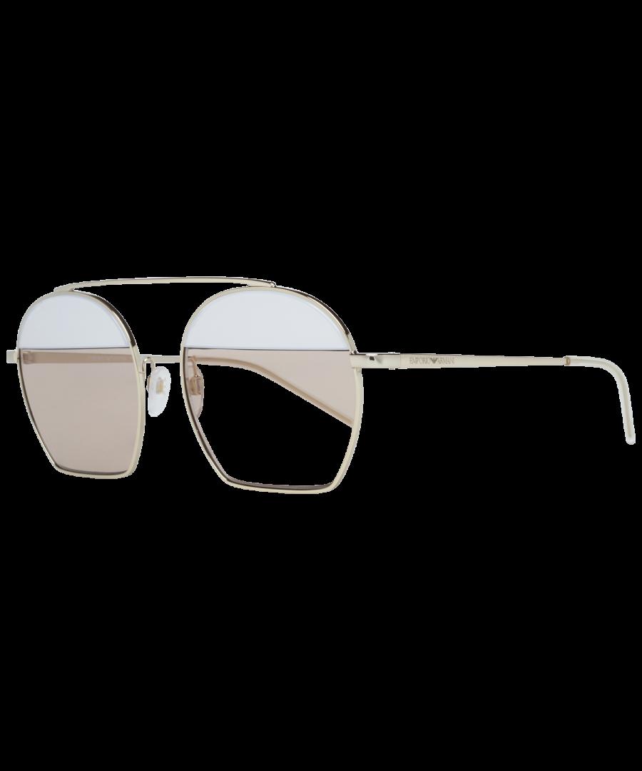 Image for Emporio Armani Sunglasses EA2086 301364 56 Unisex Silver