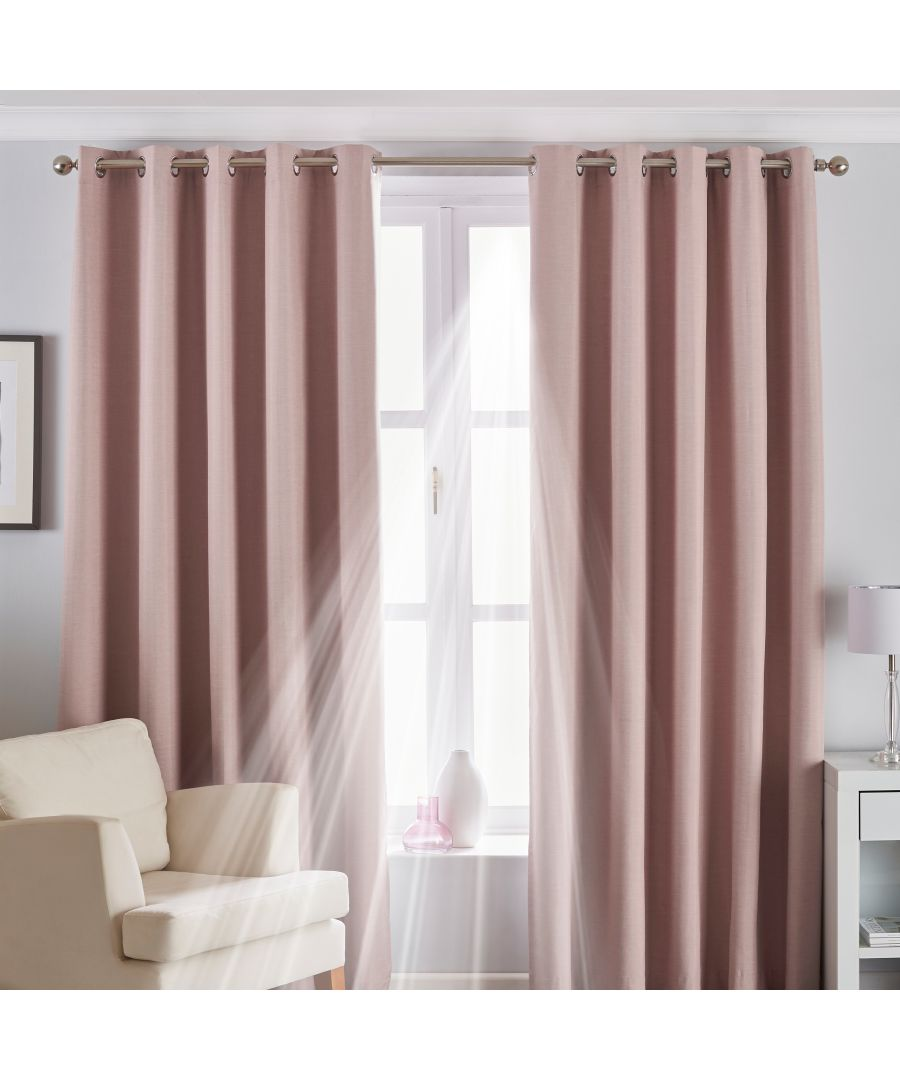 Image for Eclipse Blackout Eyelet Curtain
