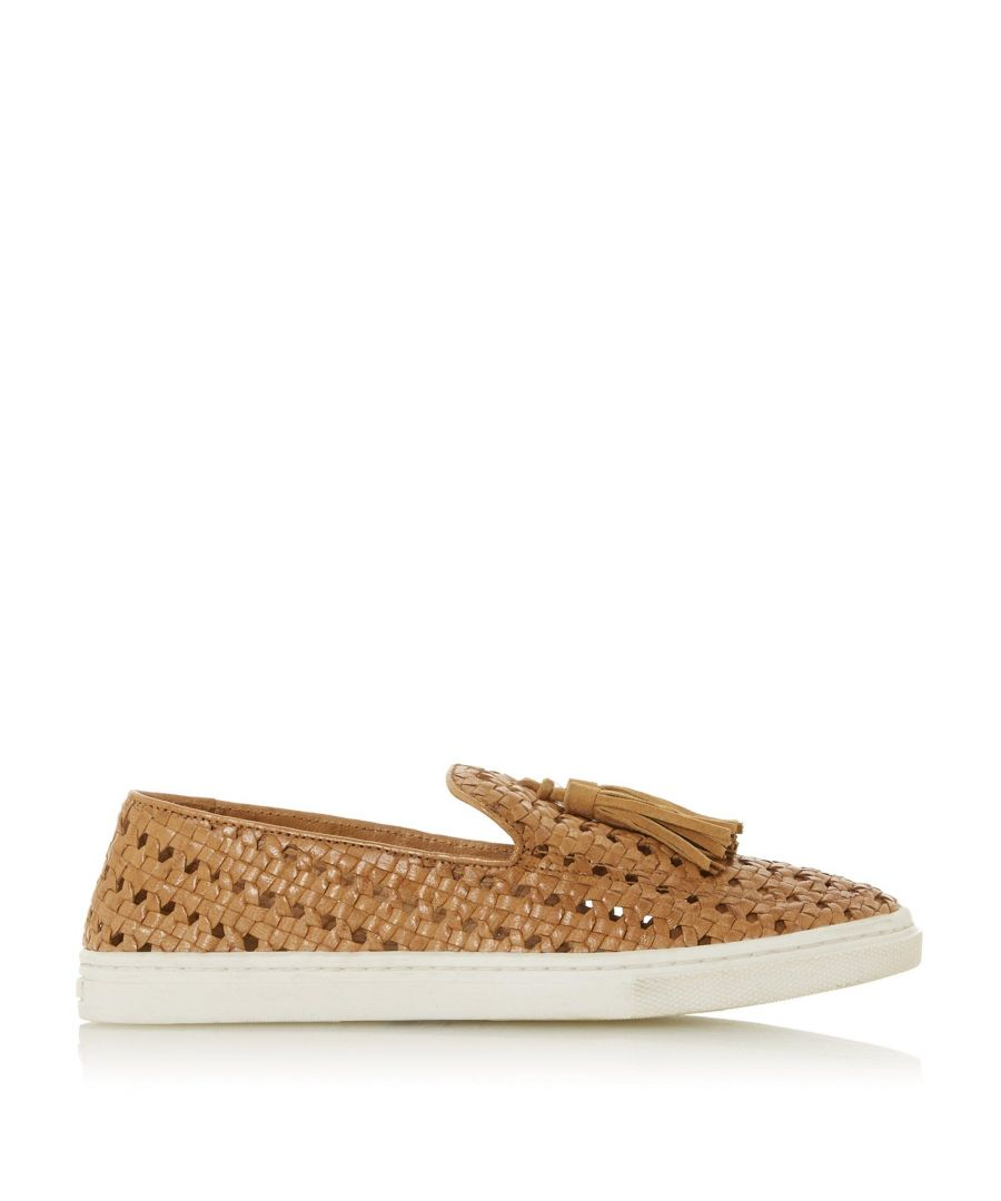 Image for Bertie Ladies EDENA Woven Tassel Slip On Trainers