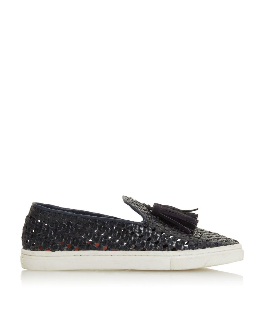 Image for Bertie Ladies EDENNA Woven Tassel Trim Slip On Trainers