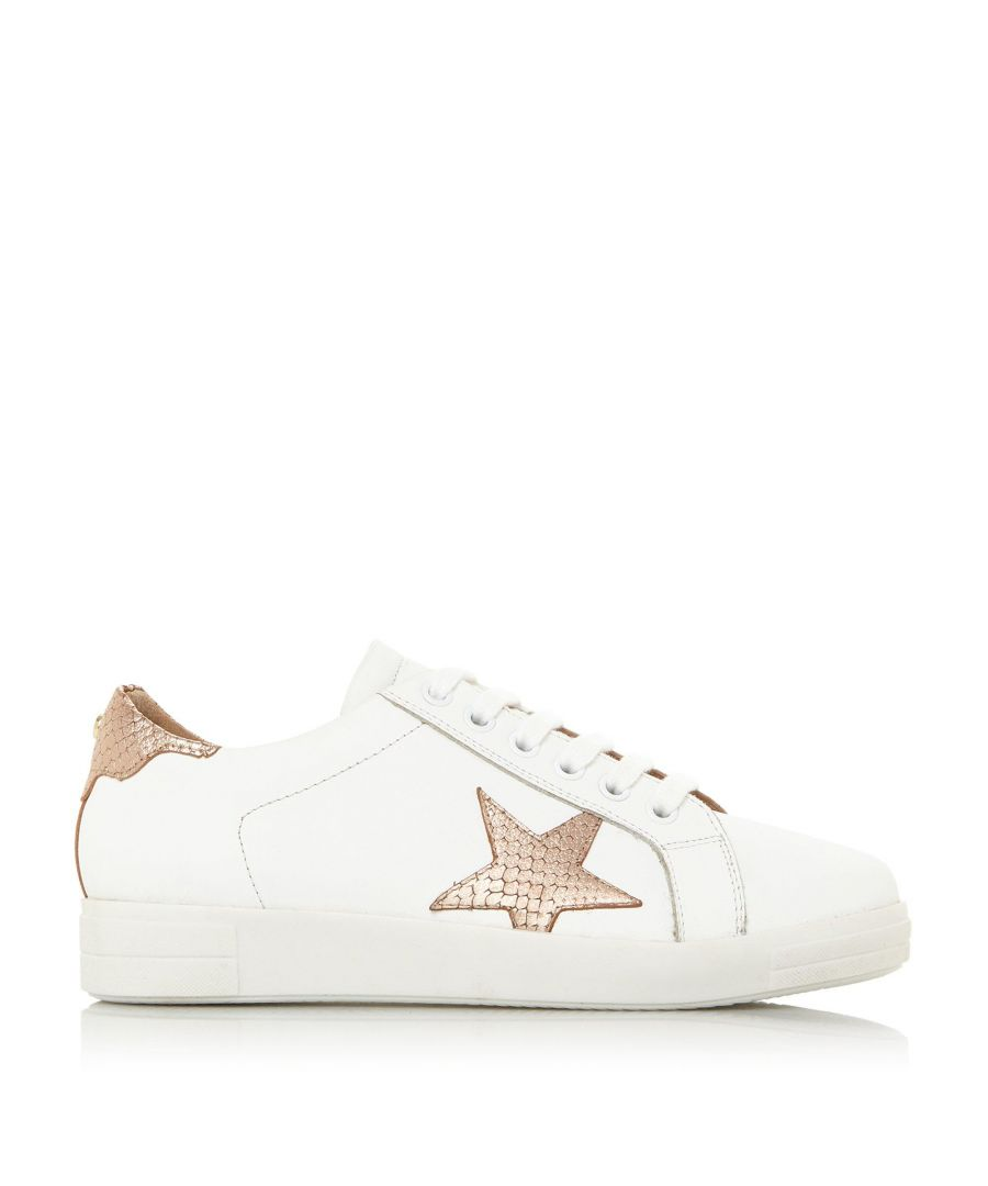 Image for Dune Ladies EDRIS S Star Lace Up Trainers