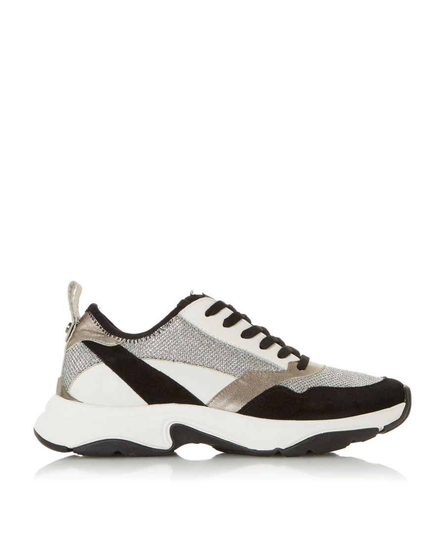 Image for Dune Ladies EIRA Slip On Contrast Panel Trainers
