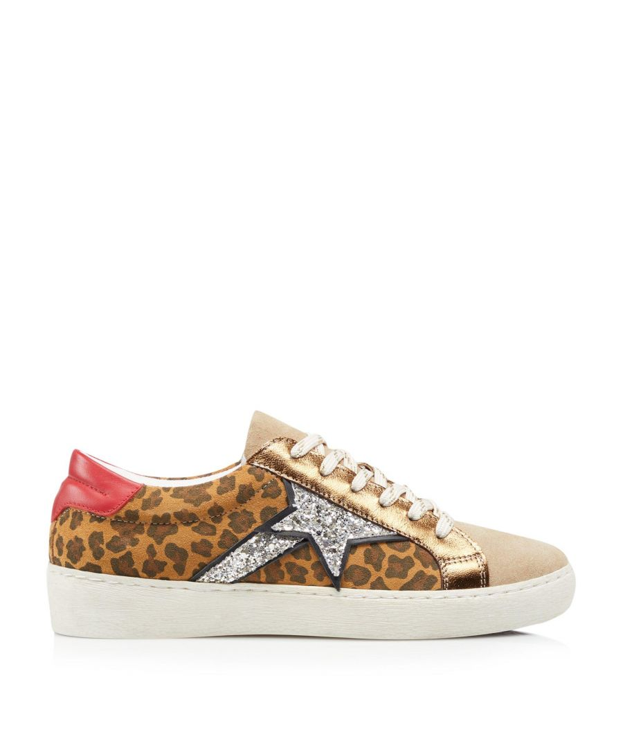 Image for Dune Ladies EMBLAZED Shooting Star Lace Up Trainers