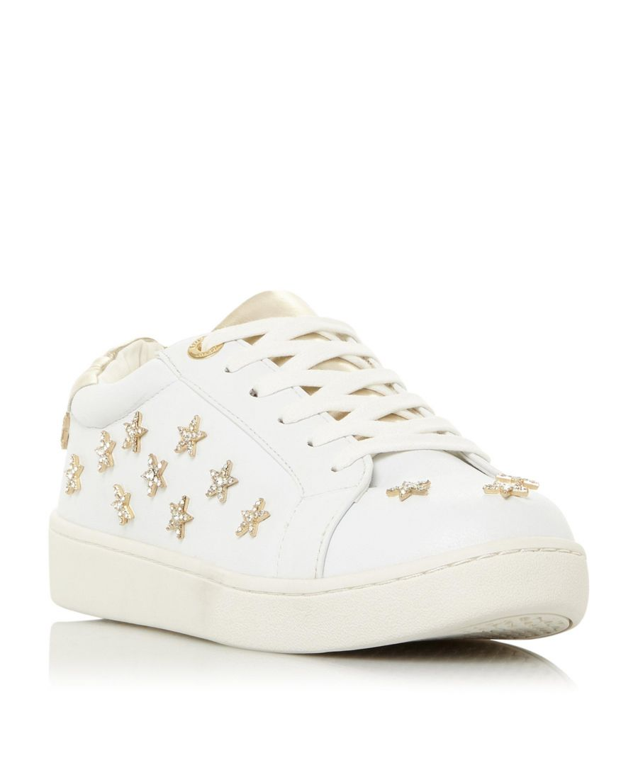 Image for Dune Ladies EMILIOH XX Star Embellished Trainer
