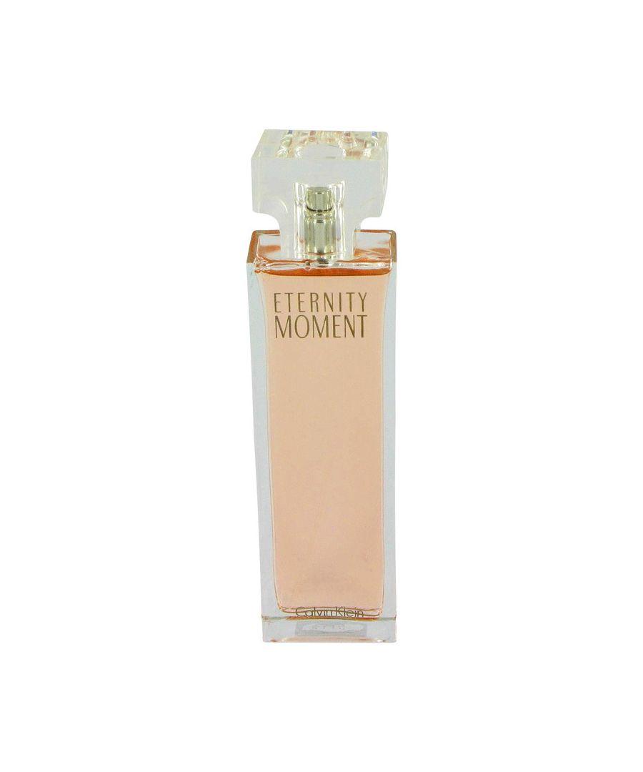 Image for Eternity Moment Eau De Parfum Spray (Tester) By Calvin Klein 100 ml