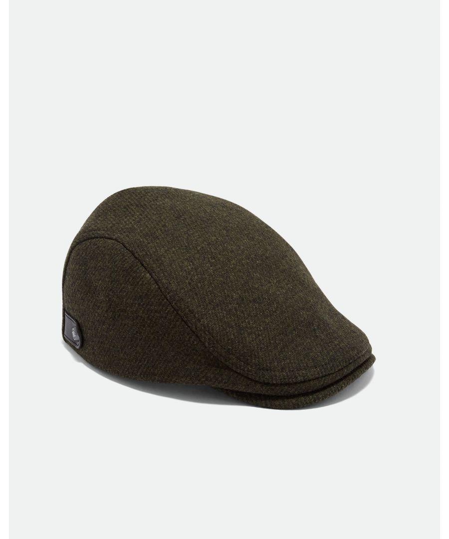 Image for Ted Baker English Twill Flat Cap, Khaki