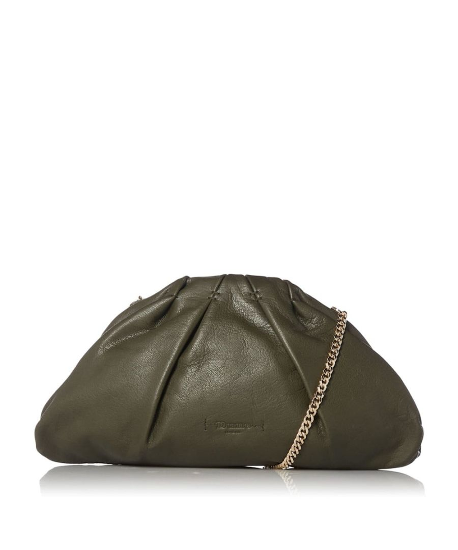 Image for Dune ENLIGHTEN Leather Voluminous Clutch Bag